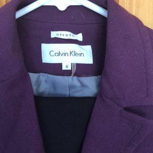 Calvin Klein fall/winter suit